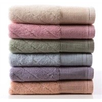Solid Color Dyed Towels , Bamboo Towel, Cotton towel, hotel towel