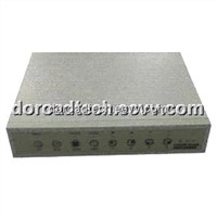4-Channel Color Quad Splitter Processor Multiplexer