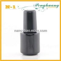 Black UV gel glass bottle