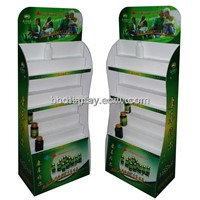 Health Care Products Cardboard Display Stand