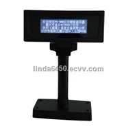 High brigtness lcd customer display for pos system