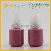 Pink 5ml nail polish glass bottles