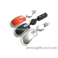 Promotional Mini Wired Optical Mouse JS-M601