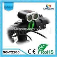 Sanguan 2200lm LED Bike Light High Quality Bicycle Light