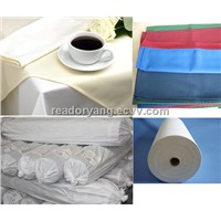 100% MJS Spun polyester fabrics in Roll