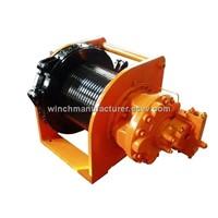 10 ton hydraulic compact winch hoisting winch