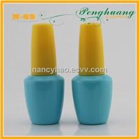 15ml nail polish glass bottle plastic cap