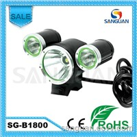 1800 Lumens Rechargeable B1800 San Guan Bicycle Light