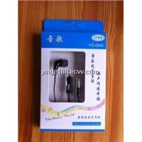 2013 high quality earphones/ mobile phone earphones