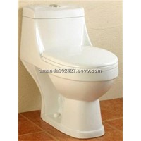 2016 Sanitary Ware, One Piece Toilet, Wash Down Closet, Wash Down Toilet, Toilet, Soft Close Toilet.