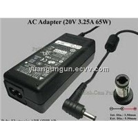 20V 3.25A laptop AC power for DELTA  laptop adapter laptop charger