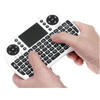 2.4G Mini Wireless Keyboard with Touchpad + Multi-media key for Laptop Android TV BOX mini PC