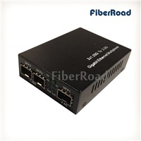 2-Port 1.25G to 2.5G Gigabit Ethernet Multiplexer