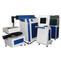 450W Efficiency Yag Metal Laser Cutting Machine
