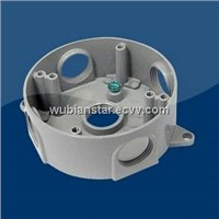 "4"" Round Aluminum Splice Box"
