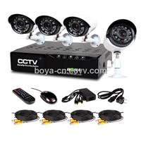 4chs DVR&Camera Kit /Mini DVR Kit(DR4C-A)