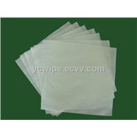 55% Wood Pulp and 45% Polyester Lint Free Cleanroom Wipe