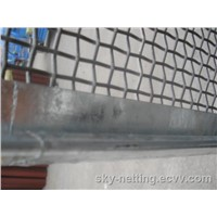 65Mn 70Mn Slurry Vibrating Screen Mesh Mine Sieving Mesh with Hook and Flate Plate
