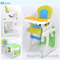 Baby high chairs with EN71&14988 certificate