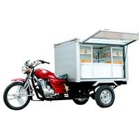 Bajaj Auto Rickshaw mobile catering shop 3 wheelers motor tricycle BA150ZH-M