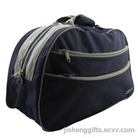 Blue Color Double Side Pockets Travel Bag