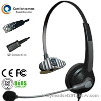 Call center RJ9 telephone headset HSM-900NPQDRJ