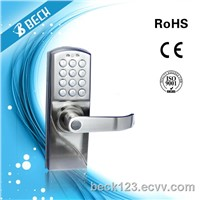 BECK Right Hand Digital Keypad Door Lock with Backup Keys, Electronic Keyless Entry by Password Code Combination