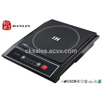 Competitive price induction hob plate with  press button control