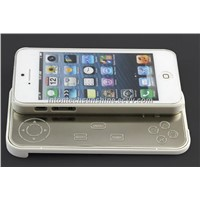 Detachable&Sliding out hard shell case with bluetooth gamepad for iphone5(KRMSK02G-IP5)