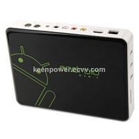 ET-02 Android TV Box TV Dongle Android 4.0 HDMI DVB-T RJ45 AV Output 3 USB Remot-SB141