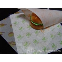 FDA approved hamburger paper