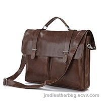 Fsahionable Genuine Leather Messenger Bags China # 7100B