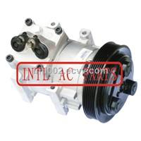 HCC HALLA HS-15 HS15 ac compressor 6PK Ford Fiesta Ecosport ECO SPORT 1.6 2005-2008 5N15-19D629-BA