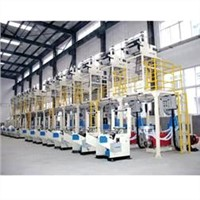 HDPE/LLDPE, LDPE Plastic film blowing machine