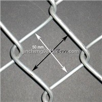 High Quality Galvanized Chain Link Wire Mesh