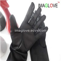 IMAGlove Ladies Fashion Fake Silk Leather Glove Lining