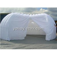 Inflatable Pod Clamshell Office