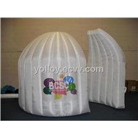 Inflatable Event Exhibition Clamshell Building