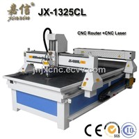 JIAXIN JX-1325CL CNC Router and Laser Cutting Machine
