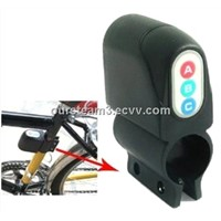 Keyless Sound Bicycle Lock Alarm ABC
