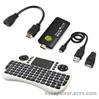 MK802IIIS Android 4.1 Dual Core Bluetooth Mini PC TV Box+ 2.4G Wireless Keyboard SB228