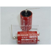 Maxell 3.6V Lithium thionyl chloride battery ER3(1/2 AA)