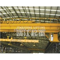 Model QC Electromagnetic Suspended Beam Bridge Crane