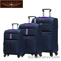 New Arrival polyester luggage case, luggage suitcase