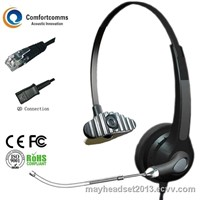New arrival call center headset for phone HSM-900TPQDRJ