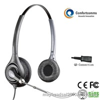 New call center headphone with microphone HSM-602TPQD