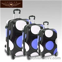 New unique 4 wheels pc trolley luggage