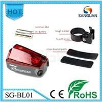 Ostar LED Bike Laser Light With 2Red Laser+5Red LED SG-BL01