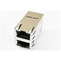 POE Shielded RJ45 USB Magjack , PCB / Switch / Router IEEE RJ45