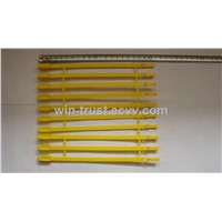 Plastic Strap Seal-Colored Plastic NYLON CABLE TIES Label Brand Belting Ribbon WIRE BINDING  Seals